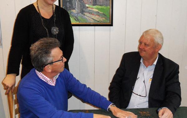 ondertekening contract NicHe bij Stichting Klassiek Leek