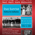 Stichting Klassiek Leek concert Kaukakisch Mannenensemble duo Sunrise
