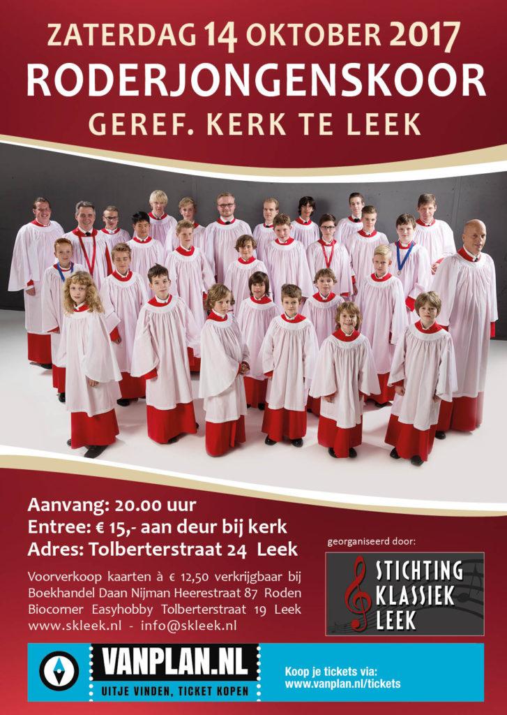 Roderjongenskoor Stichting Klassiek Leek