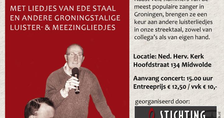 Flyer Laurens Schreuder en Alex Staal Stichting Klassiek leek